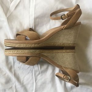 UGG Suede Wedge Sandals | 8.5